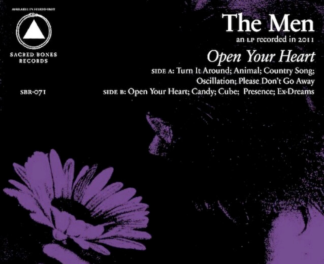 The Men Open Your Heart.cover art1